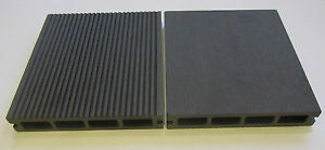 Box of 4 x wpc composite decking boards with clips for 4 8 meter decking boards