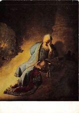 B30986 Reproductie van een schilderij van Rembrant Jeremia Treurende painting