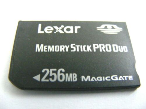 256mb Memory Stick Pro Duo 256 MB MS Pro Duo usado