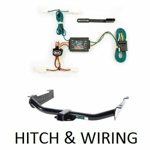 Curt 13571-55571 Trailer Hitch and Wiring Package