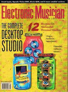 1999-Electronic-Musician-ALESIS-Q20-AUDIX-CX-111-ZOOM-RHYTHMTRAK-234-Reviews
