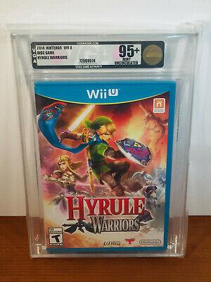 Hyrule Warriors Wii U Zelda Rare Uncirculated Copy Vga High Grade 95 45496903435 Ebay