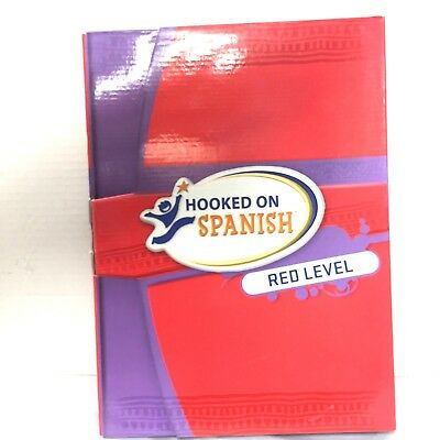 New Hooked On Spanish Red Level Reading Course Ebay