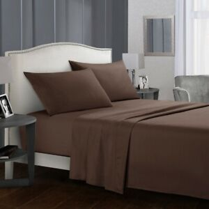 3-4-Piece-Deep-Pocket-Soft-Bed-Sheet-Set-Fitted-Flat-Queen-King-Full-Twin-Size