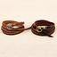 Fashion-Unisex-Coffee-Leather-Punk-Bangle-Multilayers-Bracelet-Buckle-Wristband thumbnail 1
