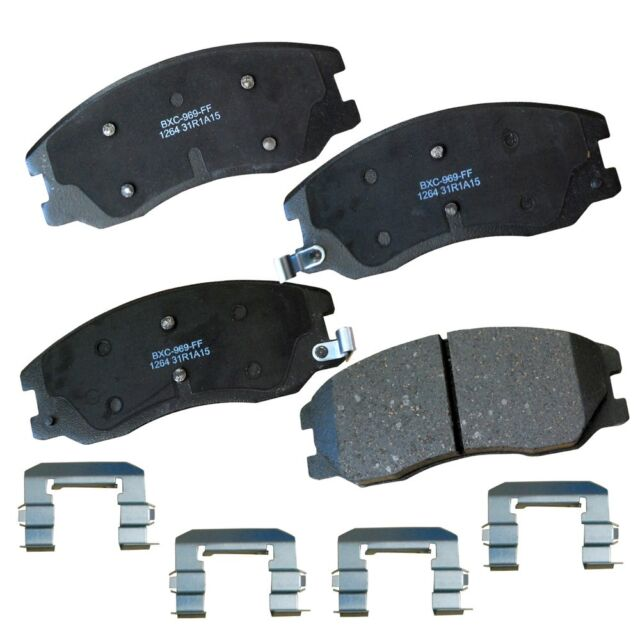Disc Brake Pad Set-Stop Ceramic Brake Pad Front Bendix SBC652