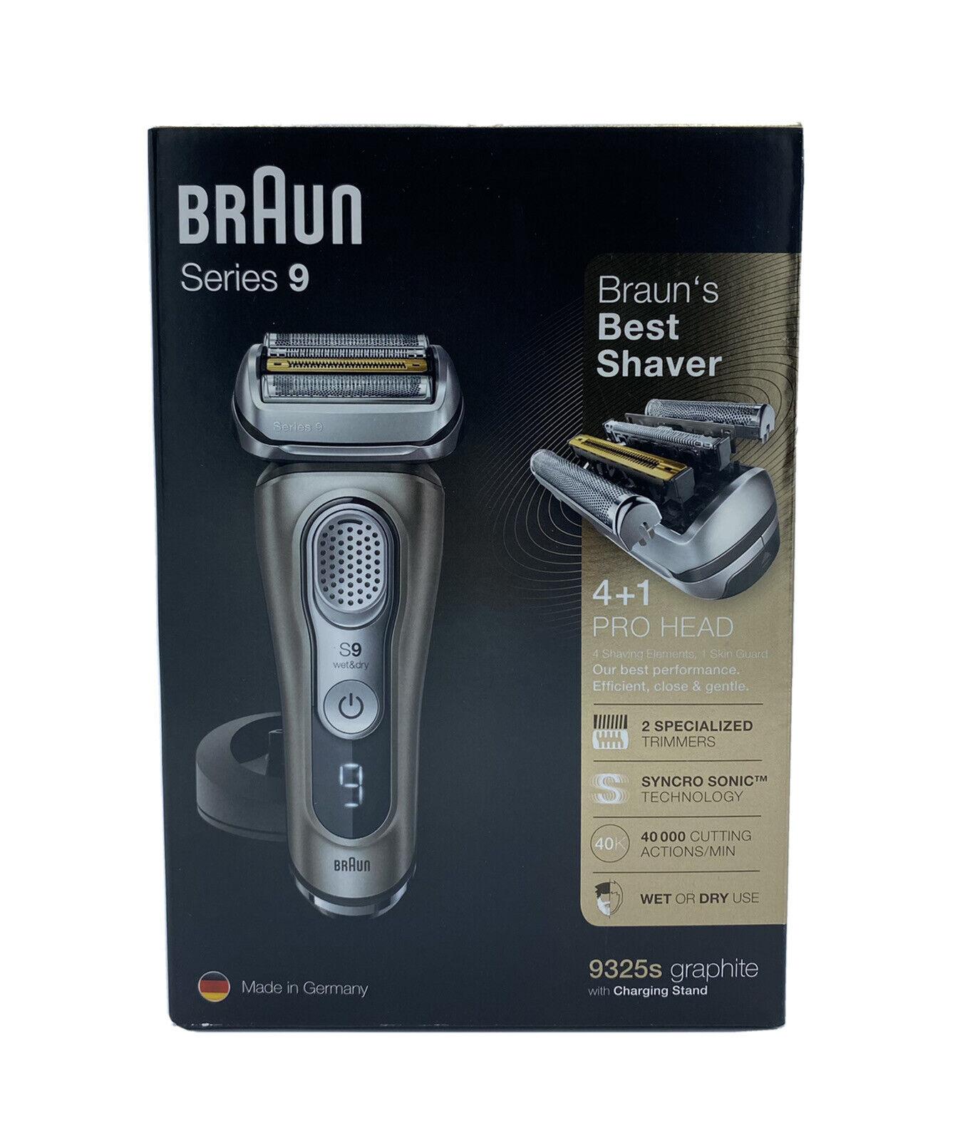 Braun Series 9 9325s Graphite Herrenrasierer elektrischer Rasierer Rasierappart