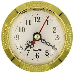 Einbau-Uhr Einsteckuhrwerk Einsteckwerk Einbauuhr ARABISCH Ø 100 mm Nr 32