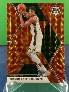 2019-20-Panini-Mosaic-Basketball-GIANNIS-ANTETOKOUNMPO-Reactive-Orange-Prizm