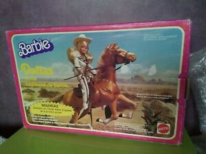 Barbie Dallas Le Cheval Mattel