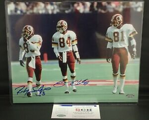 Ricky-Sanders-Gary-Clark-Redskins-POSSE-Signed-11x14-Photo-SCH-Authentic