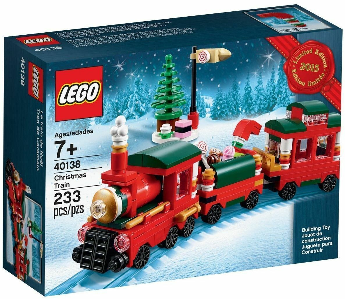 LEGO® 40138  Christmas Train - Limited edizione 2015 Holiday Set - FACTORY SEALED  centro commerciale di moda