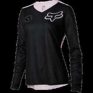 Fox Racing 2018 Women's Indicator ASYM Long Sleeve Jersey purplec