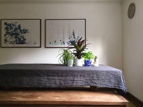 neutral linens rustic linen tablecloth minimalist tablecloth LINEN TABLECLOTH