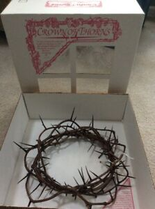 NEW-OLD-STOCK-RELIGIOUS-CROWN-OF-THORNS-FULL-SIZE