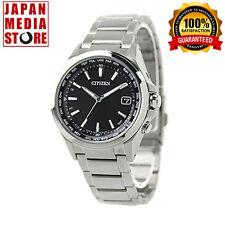 Citizen Attesa  CB1070-56E Eco-Drive Atomic Radio Titanium Watch - 100% JAPAN
