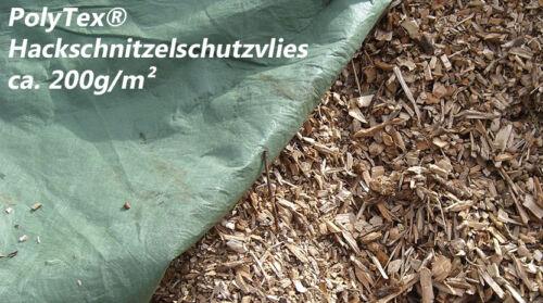 PolyTex® Holzhackschnitzelvlies Biomasseschutzvlies Schutzabdeckung Abdeckvlies