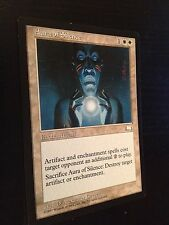 MTG MAGIC WEATHERLIGHT AURA OF SILENCE (ENGLISH AURA DE SILENCE) NM