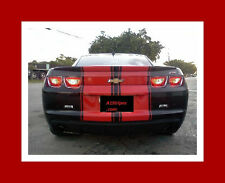"2010 11 12 13 14 15 16 CAMARO 11"" TWIN Rally Stripe Set Stripes Decals Graphics"