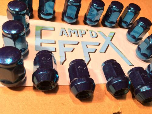 STEEL COATED complete 16 pack  XP POLARIS GENERAL /& RANGER 900 BLUE LUG NUTS