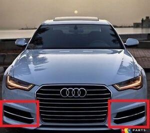Neuer-Original-Audi-A6-15-18-S-LINE-Links-Rechts-Grill-Stossstange