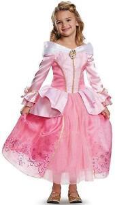 Deluxe Aurora Costume Disney Princess Halloween Fancy Dress