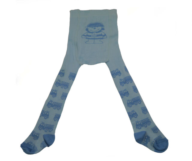 Steinbeck Baby Strumpfhose blau Feuerwehr Größe 62 / 68 Junge Feuerwehrman  NEU