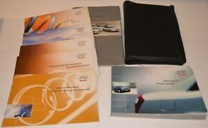 2003-AUDI-A4-OWNERS-MANUAL-GUIDE-BOOK-SET-WITH-CASE-OEM