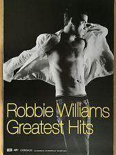 ROBBIE WILLIAMS 2004 PROMO  -  orig.Concert Poster  --  Konzert Plakat  A1 NEU