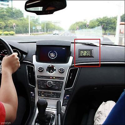 Calendario Auto.Universal Car Auto Tablero Electronico Lcd Reloj Digital