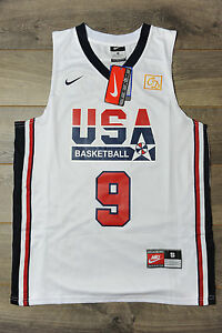 0caf141b183 Michael Jordan #9 Team USA Jersey New Dream Team Olympic Classic ...