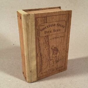 Stowe-VT-c-1920s-MT-MANSFIELD-MAPLE-MERCHANTS-Syrup-Sugar-Candy-Wood-Gift-Box