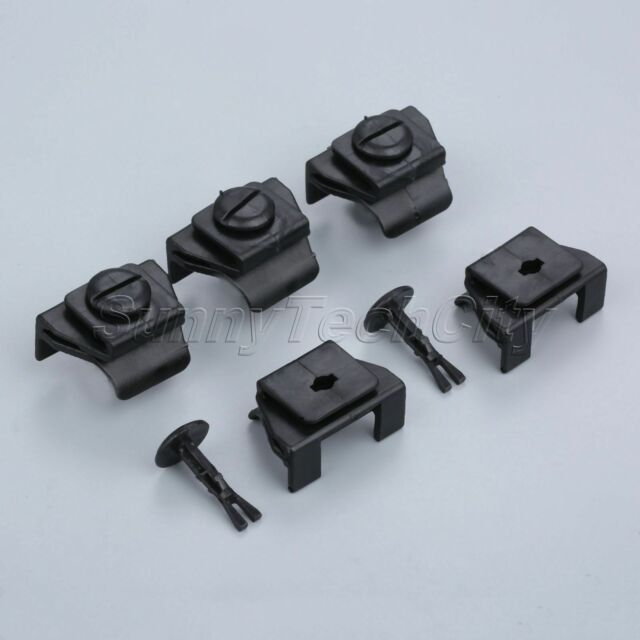 Car Fender Bumper Cover Clip Kit Front Black Brand New High Quality Accessories