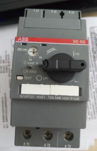 1PC NEW ABB MS450-40 40A Motor starter #V2508 CH