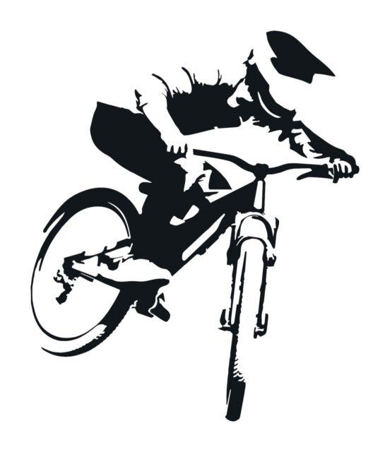 Boxxer Decal Sticker set DH MTB Freeride Downhill Moto Dirt