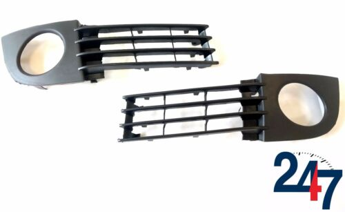 NEW AUDI A6 C5 01-04 FACELIFT FOG LIGHT SURROUND TRIM GRILLS PAIR LEFT+RIGHT SET