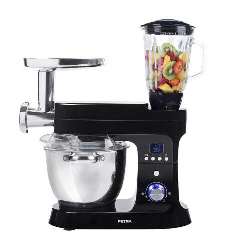 Petra Electric Küchenmaschine mit Kochfunktion Multi MK 12.07 5,5L Mixer Rührer