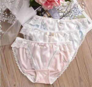 7bee8626870 Plus Size Underwear Sexy Mid-rise Brief Style Panties Lovely Lace ...