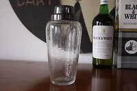 SHAKER Cocktailshaker Shabby Chic Glas 60er EISGLAS 60s romantic True VINTAGE