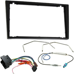 Vauxhall-Corsa-C-Tigra-Vectra-Double-Din-Stereo-Fascia-Fitting-Kit-Adaptor-54-gt
