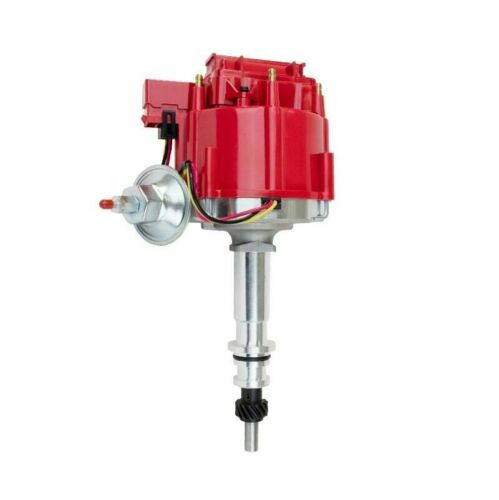 64 65 66 67 68 FORD MUSTANG STRAIGHT 6 CYL 170 200 HEI DISTRIBUTOR Red