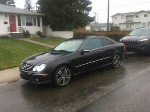Mint Mercedes CLK 500    V8, AMG RIMS MUST    SELL