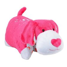 Pillow Pet 18-inch 1 Direction Puppy (pink) - One Pink Cushion Mookie