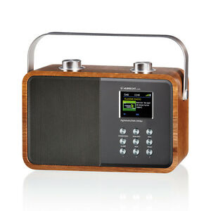 27385-B-Ware-ALBRECHT-DR-850-Radio-UKW-DAB-DAB-Braun-Grau