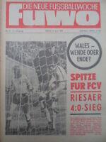 FUWO 14- 8.4. 1969 * Riesa-BFC 4:0 Jena-HFC 3:2 Union-Aue 2:1 Zwickau-Erfurt 1:0
