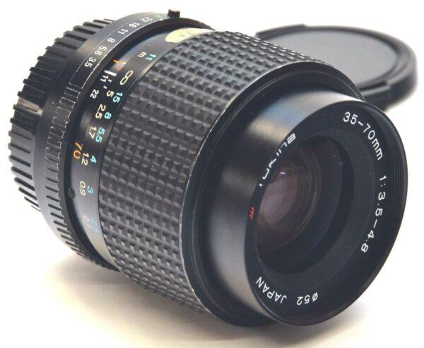 Bien éDuqué Pentax Pk/une Tokina 35-70mm Pka 3.5-4.8 Suppression De L'Obstruction