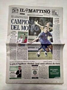 IL-MATTINO-10-LUGLIO-2006-GERMANY-MONDIALI-ITALIA-CAMPIONE-COPPA-DEL-MONDO