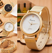 New Geneva Gold Dot Design Quartz Women Lady Casual Wrist Watch Watches DT5