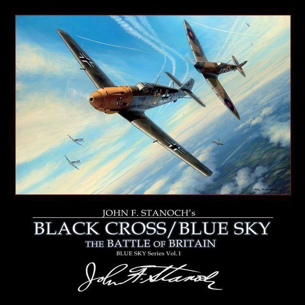 Tablero WarJuego - Negro con Cruz   azul Sky Vol.1-The Battle Of Britain
