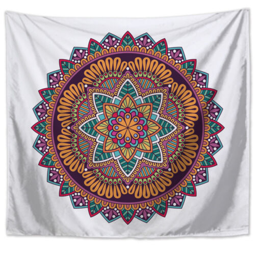 Mandala Tapestry Polyester Wall Hanging Blanket Mat Outdoor Supplies Home Decor